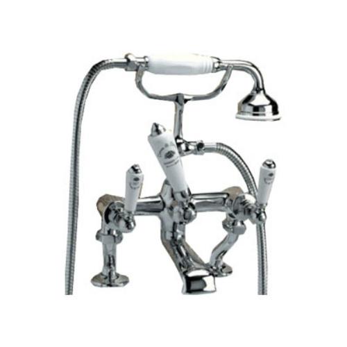 Coventry MARF20/BCR ХромСмесители<br>Смеситель для ванны Devon Devon Coventry набортный с душем и шлангом хром. Стандарт подводки 3/4, Способ монтажа вертикальный.<br>