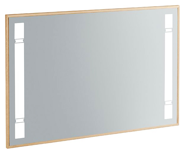True Oak A480A000 зеркальное покрытиеМебель для ванной<br>Зеркало Villeroy&amp;Boch True Oak A480A000, светодиодная подсветка, 2xLED / 23Вт, A-A++.<br>