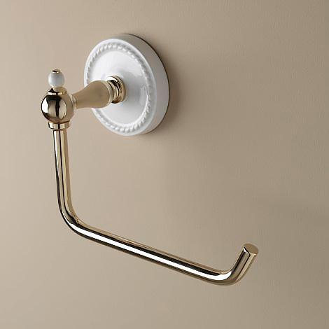 Dorothy DOR411OT ЛатуньАксессуары для ванной<br>Держатель Devon&amp;Devon Dorothy для туалетной бумаги, хром. Метод крепления : шурупы.<br>