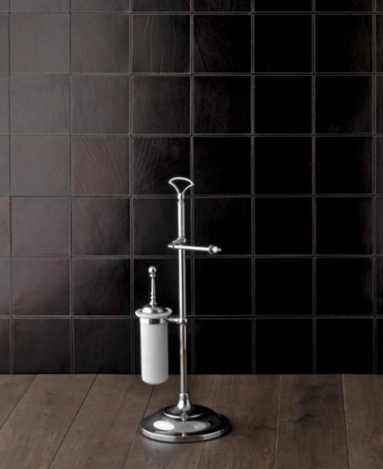 Single SL12CR ХромАксессуары для ванной<br>DEVON &amp; DEVON Single - хромированная стойка с ершом и бумагодержателем.<br>