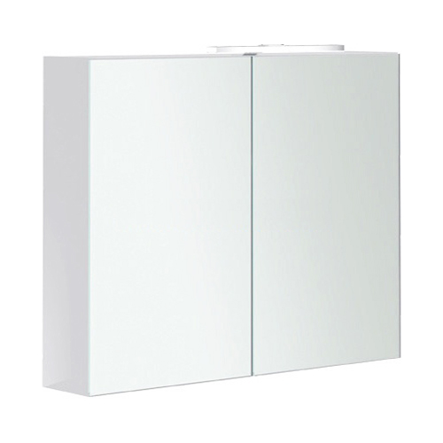 2Day2 A438F1 белый глянцевыйМебель для ванной<br>Зеркальный шкаф Villeroy&amp;Boch 2Day2 A438F1E4 с LED подсветкой.<br>