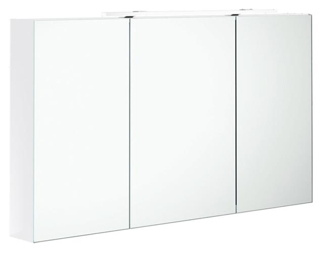 2Day2 A438F3 белый глнцевыйМебель дл ванной<br>Зеркальный шкаф Villeroy&amp;Boch 2Day2 A438F3E4 с LED подсветкой.<br>
