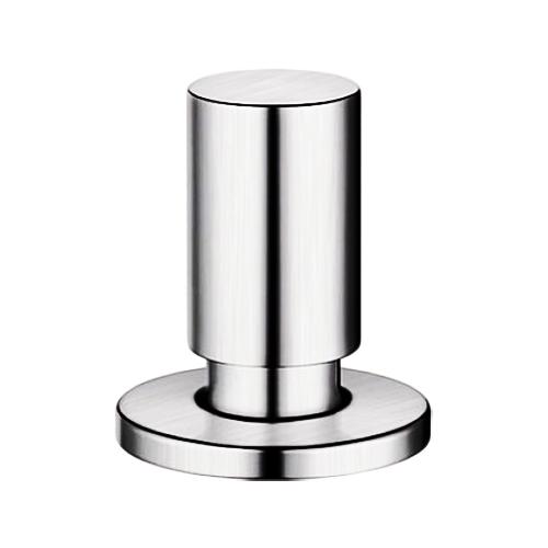 222115 нержавеющая сталь c зеркальной полировкойКухонные мойки<br>Ручка управления клапаном-автоматом Blanco 222115 круглая, цвет нержавеющая сталь c зеркальной полировкой. Отверстие для установки диаметром 35 мм.<br>