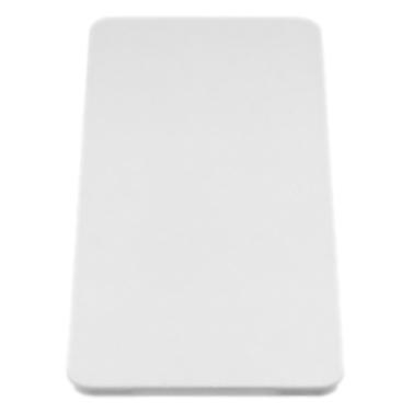 217611 белаяКухонные мойки<br>Разделочная доска Blanco 217611. Подходит для моек Blanco шириной 500 мм. Профили разделочной доски позволяют устанавливать её на крыло. Цена указана за доску. Все остальное приобретается дополнительно.<br>