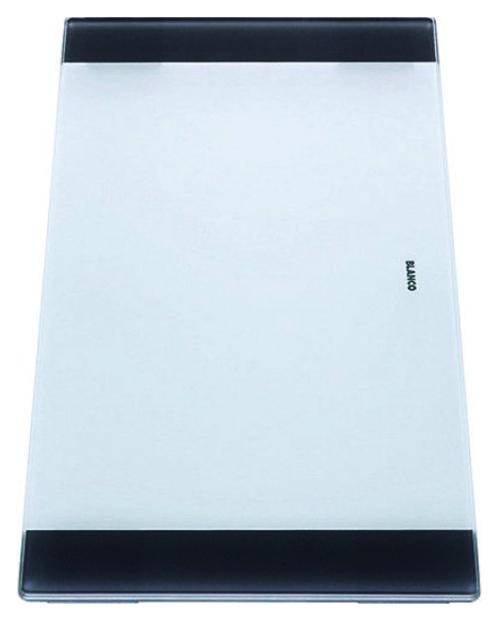 219645 белаяКухонные мойки<br>Разделочная доска Blanco 219645 из безопасного стекла. Цена указана за доску. Все остальное приобретается дополнительно.<br>