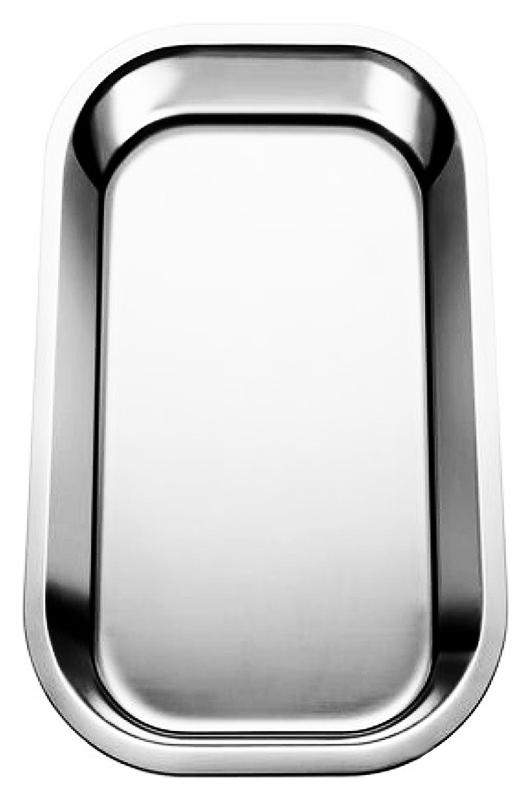 220145 хромКухонные мойки<br>Поддон Blanco 220145 из нержавеющей стали. Подходит для моек Blanco серии AXIS II. Цена указана за поддон. Все остальное приобретается дополнительно.<br>