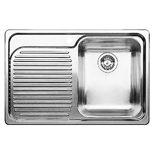 Classic 8 507701 нержавеющая сталь c зеркальной полировкой, праваяКухонные мойки<br>Кухонная мойка Blanco Classic 8 507701 врезная, 1 чаша справа, 1 крыло. Монтаж в один уровень под столешницу. Для установки в шкаф шириной от 45 см.<br>