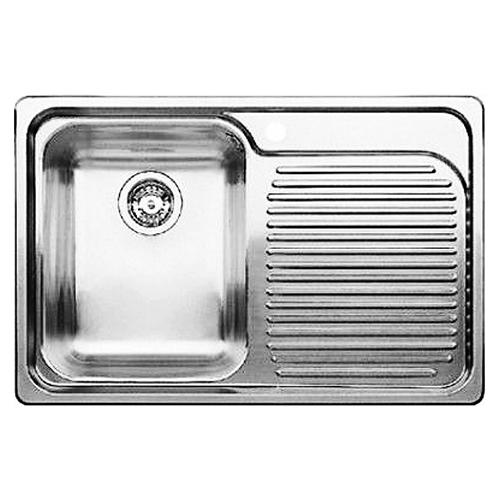 Classic 8 507702 нержавеющая сталь c зеркальной полировкой, леваяКухонные мойки<br>Кухонная мойка Blanco Classic 8 507702 врезная, 1 чаша слева, 1 крыло. Монтаж в один уровень под столешницу. Для установки в шкаф шириной от 45 см.<br>