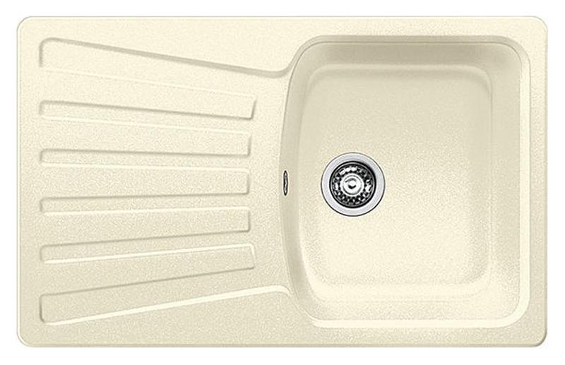 Nova 45 S 510576 жасминКухонные мойки<br>Кухонная мойка Blanco Nova 45 S 510576 врезная, 1 чаша с крылом. Для установки в шкаф шириной от 45 см.<br>
