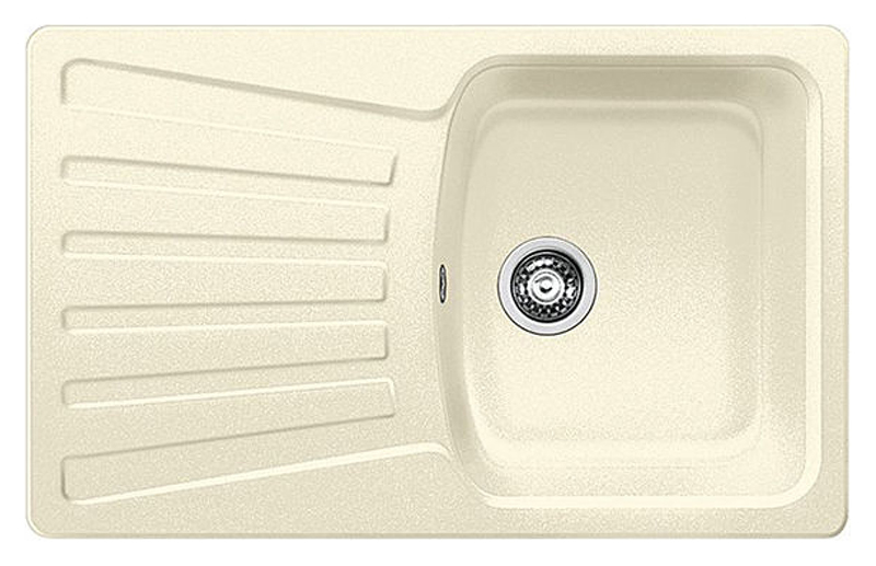Nova 5 S 510577 жасминКухонные мойки<br>Кухонная мойка Blanco Nova 5 S 510577 врезная, 1 чаша с крылом. Для установки в шкаф шириной от 50 см. Цена указана за мойку. Все остальное приобретается дополнительно.<br>