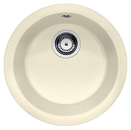 Rondo 511623 жасминКухонные мойки<br>Кухонная мойка Blanco Rondo 511623 врезная, 1 чаша. Для установки в шкаф шириной от 45 см. Возможна установка под столешницу.<br>