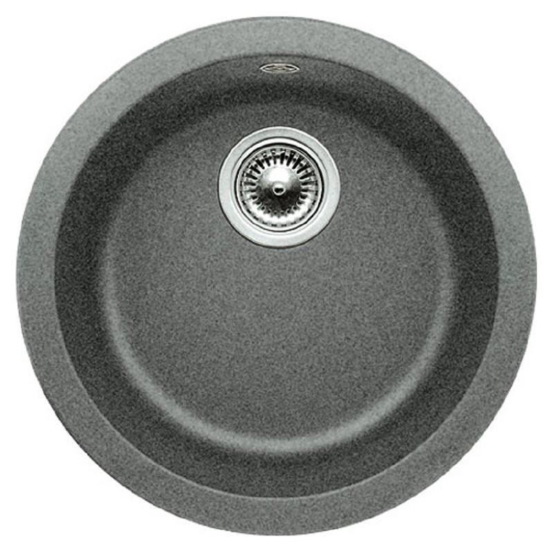 Rondo 511704 алюметалликКухонные мойки<br>Кухонная мойка Blanco Rondo 511704 врезная, 1 чаша. Для установки в шкаф шириной от 45 см. Возможна установка под столешницу. Цена указана за мойку. Все остальное приобретается дополнительно.<br>