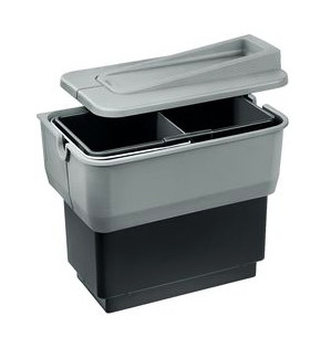 Контейнер для мусора Blanco Singolo 512881 серый фото