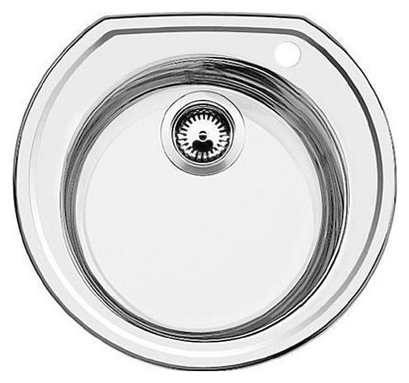 Кухонная мойка Blanco Rondoval 513313 нержавеющая сталь полированная
