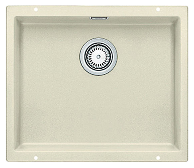 Subline 500-U 513410 жасминКухонные мойки<br>Кухонная мойка Blanco Subline 500-U 513410. Максимальный объем чаши благодаря современным технологиям производства и установки. Элегантный и гигиеничный перелив C-overflow®. Для установки в шкаф шириной от 60 см. Установка под столешницу в один уровень.<br>