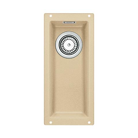 Subline 160-U 513951 шампаньКухонные мойки<br>Кухонная мойка Blanco Subline 160-U 513951. Максимальный объем чаши благодаря современным технологиям производства и установки. Элегантный и гигиеничный перелив C-overflow®. Для установки в шкаф шириной от 30 см. Установка под столешницу в один уровень.<br>