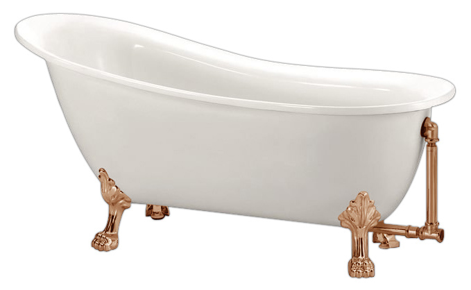 BB06-1550-BRN 155x76 БелаяВанны<br>Свободностоящая акриловая ванна Belbagno BB06-1550-BRN.<br>