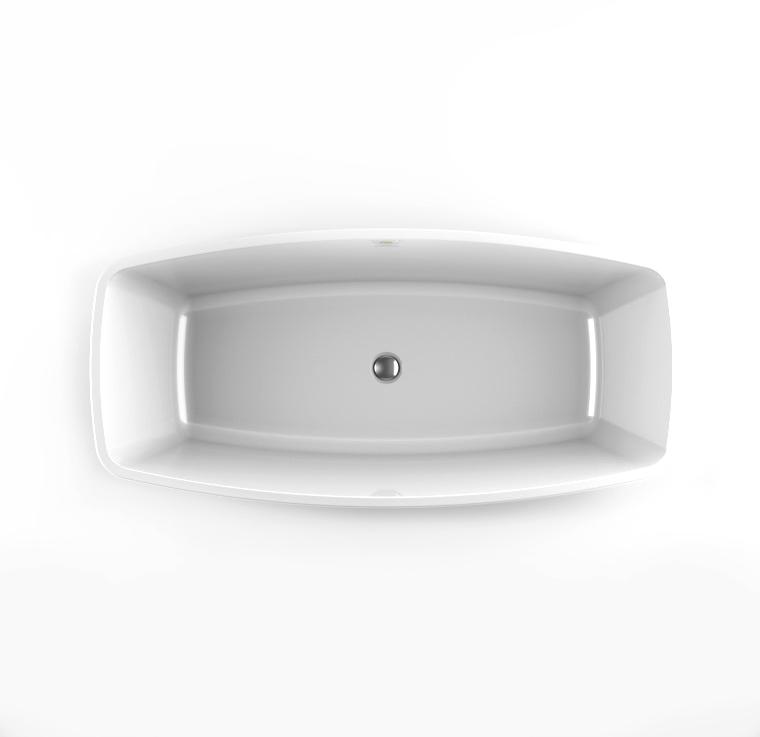 Акриловая ванна Jacuzzi Esprit 170x80 9443-815A Белый цена 2017