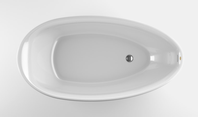 Акриловая ванна Jacuzzi Desire 185x95 9443-814A Белый акриловая ванна jacuzzi j twin idro 9448 188a 170x86