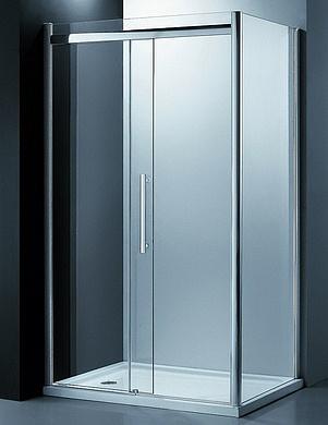Nobile EF-6050T Профиль хром, стекло прозрачноеДушевые ограждения<br>Душевой уголок Edelform Nobile EF-6050T. Душевая дверь раздвижная Soft-Close. Материал: закаленное безопасное стекло 8 мм. Может устанавливаться без поддона.  Возможна комплектация различными версиями поддонов.<br>