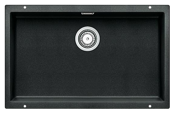 Subline 700-U 515782 антрацитКухонные мойки<br>Кухонная мойка Blanco Subline 700-U 515782. Максимальный объем чаши благодаря современным технологиям производства и установки. Элегантный и гигиеничный перелив C-overflow®. Для установки в шкаф шириной от 80 см.<br>