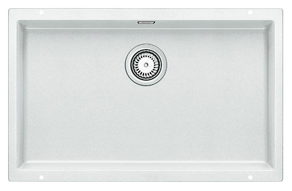 Subline 700-U 515774 белаяКухонные мойки<br>Кухонная мойка Blanco Subline 700-U 515774. Максимальный объем чаши благодаря современным технологиям производства и установки. Элегантный и гигиеничный перелив C-overflow®. Для установки в шкаф шириной от 80 см. Цена указана за мойку. Все остальное приобретается дополнительно.<br>