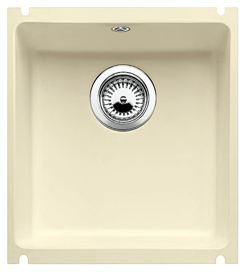 Subline 375-U 516040 жасминКухонные мойки<br>Кухонная мойка Blanco Subline 375-U 516040 из керамики с водоотталкивающим покрытием PuraPlus®. Благодаря покрытию на поверхности мойки образуется меньше отложений и ее легче чистить. Монтаж под столешницу с минимальной толщиной 25 мм. Может потребоваться выпил на боковых стенках шкафа. Для установки в шкаф шириной от 45 см.<br>