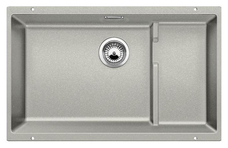 Subline 700-U Level 520666 жемчужнаяКухонные мойки<br>Кухонная мойка Blanco Subline 700-U Level 520666. Максимальный объем чаши благодаря современным технологиям производства и установки. Уровень для временного хранения и просушки. Элегантный и гигиеничный перелив C-overflow®. Для установки в шкаф шириной от 80 см.<br>