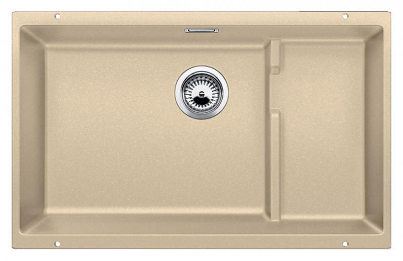 Subline 700-U Level 518395 шампаньКухонные мойки<br>Кухонная мойка Blanco Subline 700-U Level 518395. Максимальный объем чаши благодаря современным технологиям производства и установки. Уровень для временного хранения и просушки. Элегантный и гигиеничный перелив C-overflow®. Для установки в шкаф шириной от 80 см.<br>
