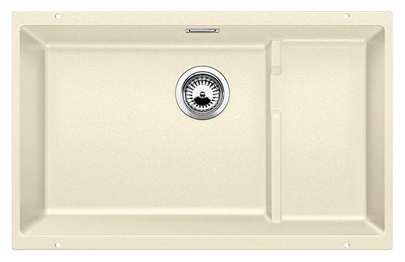 Subline 700-U Level 518394 жасминКухонные мойки<br>Кухонная мойка Blanco Subline 700-U Level 518394. Максимальный объем чаши благодаря современным технологиям производства и установки.  Уровень для временного хранения и просушки. Элегантный и гигиеничный перелив C-overflow®. Для установки в шкаф шириной от 80 см.<br>