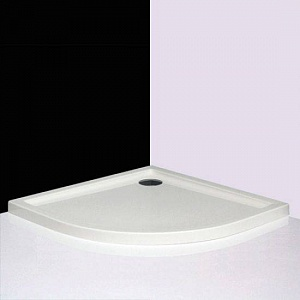 Flat Round 900 БелыйДушевые поддоны<br>Душевой поддон Roltechnik Flat Round 900. Цвет белый.<br>
