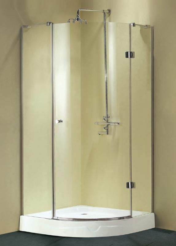Venera 1000x1000x1900 Профиль хром/стекло прозрачноеДушевые ограждения<br>Душевой уголок Sturm Venera 1000x1000x1900 с одной распашной дверью, прозрачные стекла. Профиль – хром. Толщина стекла 6 мм.<br>