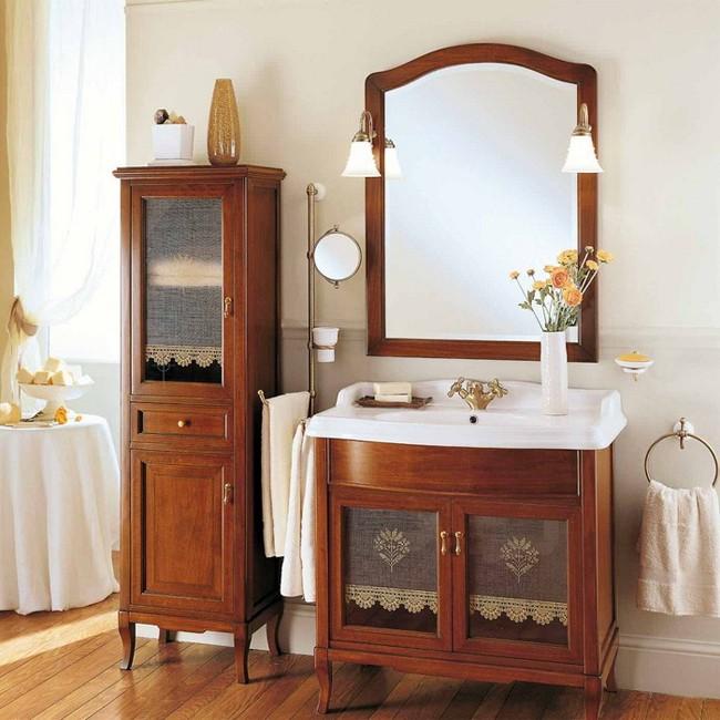 Victoria 90 Орех/БронзаМебель для ванной<br>Мебель для ванной Labor Legno, тумба Victoria HPL90V с двумя распашными дверцами со стеклом, а также с раковиной столешницей Victoria Luxury HCLUX90. Фасад орех, фурнитура бронза, раковина белый.<br>
