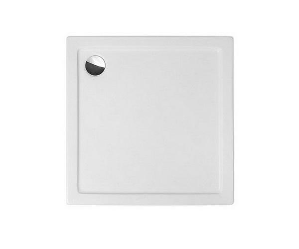 Flat Kvadro 800 БелыйДушевые поддоны<br>Душевой поддон квадратный Roltechnik Flat Kvadro 800. Цвет белый.<br>
