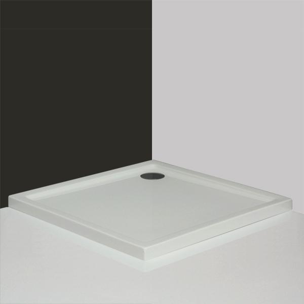 Flat Kvadro 800x900 БелыйДушевые поддоны<br>Душевой поддон прямоугольный Roltechnik Flat Kvadro 800x900. Цвет белый.<br>