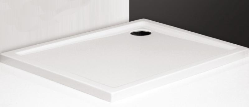 Flat Kvadro 1000x800 БелыйДушевые поддоны<br>Душевой поддон прямоугольный Roltechnik Flat Kvadro 1000x800. Цвет белый.<br>