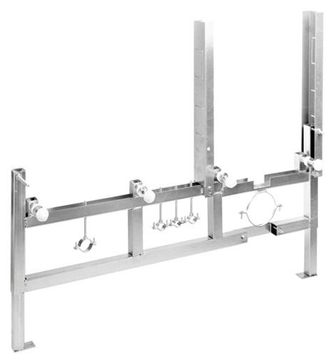G-Full YXGZ ХромИнсталляции<br>Специальный реверсивный кронштейн для установки системы Hatria Sliding G-Full System YXGZ. Система инсталляции для многофункциональной подвесной скамьи, шириной 1200 мм.<br>