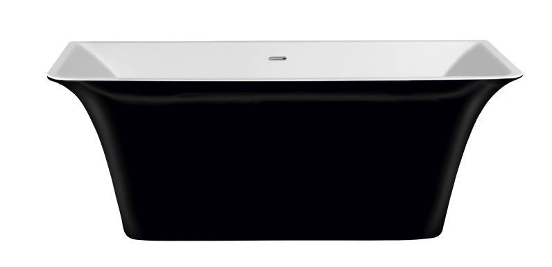 Evora 160  Black AgateВанны<br>Цельнолитая отдельностоящая акриловая ванна Lagard Evora 1605x770 Black Agate из европейского гипоалергенного полиметилметакрилата EMTEC-BASF, Германия - категории А+. Ванна анатомической формы, с максимально комфортным погружением человека. Ванна поставляется в комплекте со встроенной и полностью укомплектованной системой слива-перелива и гидрозатвора click-clack. По желанию заказчика возможна поставка металлической фурнитуры в цвет: золота, хрома, бронзы или сатинокс. Ванна окрашена металлизированной высокотехнологичной краской для сантехнических изделий и имеет пожизненную гарантию на отслоение. Изделие устанавливается на ножки-опоры с возможностью их регулирования выноса ванны по вертикали в диапазоне 5 см. Функциональный объем воды не превышает 590 л.<br>