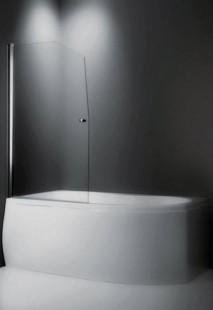 Swing/850 Профиль Brilliant, стекло прозрачноеДушевые ограждения<br>Шторка на ванну Roltechnik Swing/850 657-8500000-00-02. Ширина входа 770 мм. Безопасное стекло толщиной 6 мм с покрытием Nanoglass II (защита от водного камня и простота в уходе за чистотой стекла).<br>