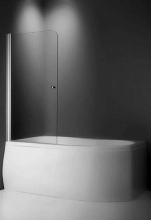 TV1/800 Профиль Brilliant, стекло прозрачноеДушевые ограждения<br>Шторка на ванну Roltechnik TV1/800. Ширина входа 720 мм. Безопасное стекло толщиной 6 мм с покрытием Nanoglass II (защита от водного камня и простота в уходе за чистотой стекла).<br>