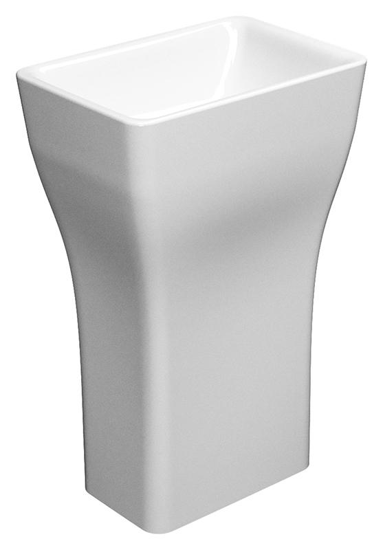 Sand 905911 слив в стену белаяРаковины<br>Раковина напольная GSI Sand 905911, без отверстия для слива-перелива, для напольного или настенного смесителя. Устанавливается со сливом в стене. Цена указана за раковину. Все остальное приобретается дополнительно.<br>