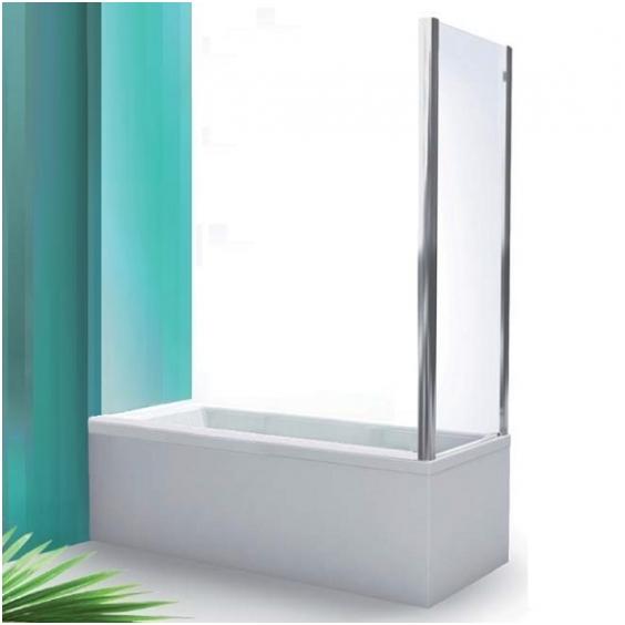 PXVB/700 Профиль brillant/стекло прозрачноеДушевые ограждения<br>Боковая стенка неподвижная Roltechnik PXVB/700. Безопасное стекло толщиной 6 мм с покрытием Nanoglass II (защита от водного камня и простота в уходе за чистотой стекла).<br>