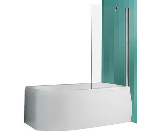 PXV1/750 Профиль brillant/стекло прозрачноеДушевые ограждения<br>Шторка на ванну Roltechnik PXV1/700 453-7000000-00-02. Безопасное стекло толщиной 6 мм с покрытием Nanoglass II (защита от водного камня и простота в уходе за чистотой стекла).<br>