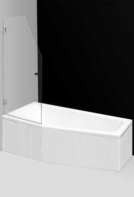 Screen Mini 660х1400 Профиль brillant/стекло прозрачноеДушевые ограждения<br>Шторка на ванну Roltechnik Screen Mini 217-7000000-00-09 распашная. Прозрачное безопасное стекло, 8 мм, покрытие стекла Nanoglass, полированный алюминиевый профиль.<br>