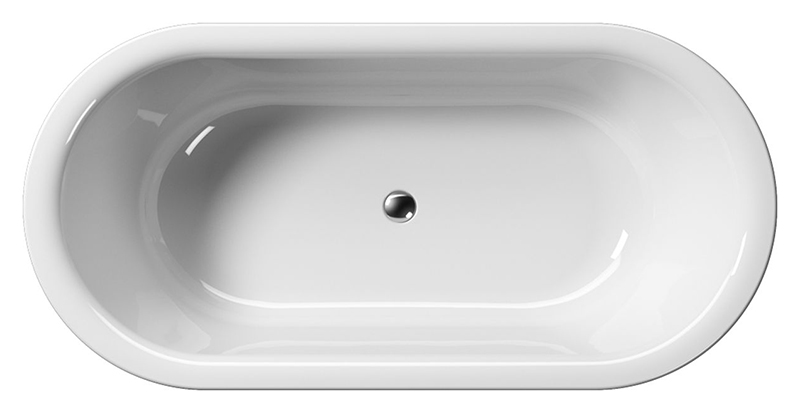"""Sand 185 белаяВанны<br>Ванна акриловая GSI Sand 185 с сифоном и донным клапаном управляемым нажатием """"push-pull"""". В комплект поставки входят: чаша ванны, сифон и донный клапан.<br>"""