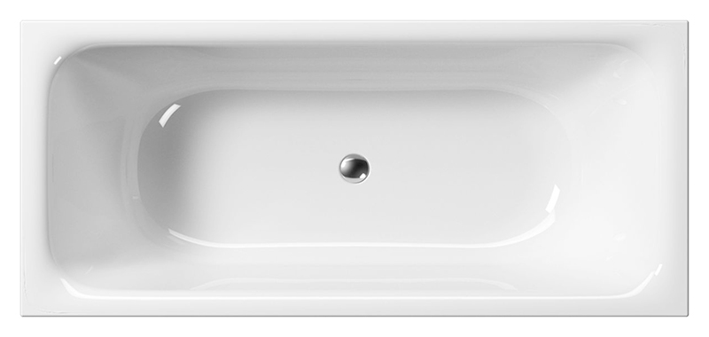 """Sand 180 белаяВанны<br>Ванна акриловая GSI Sand 180 с сифоном и донным клапаном управляемым нажатием """"push-pull"""". В комплект поставки входят: чаша ванны, сифон и донный клапан.<br>"""