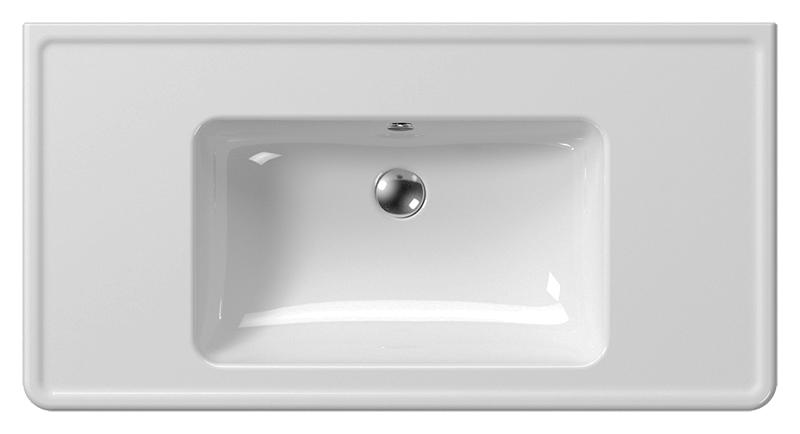 Classic 105 8723111 белая глянцеваяРаковины<br>Раковина подвесная GSI Classic 105 8723111 с отверстием для слива-перелива.<br>