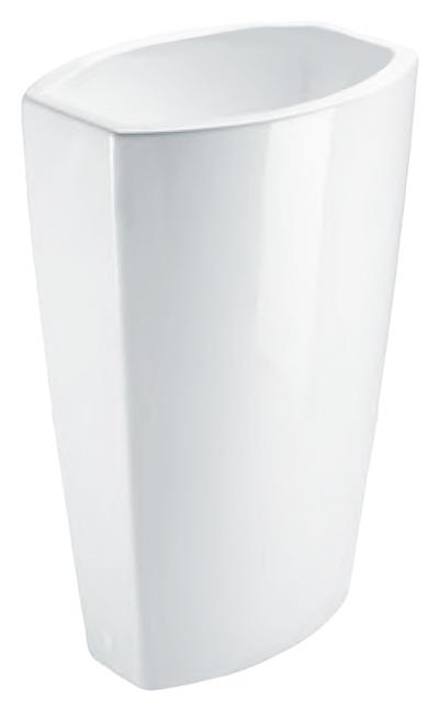Norm 7559011 слив в стену белаяРаковины<br>Раковина напольная GSI Norm 7559011 слив в стену, без отверстия для слива-перелива, для напольного или настенного смесителя. Устанавливается со сливом в стене. Цена указана за раковину. Все остальное приобретается дополнительно.<br>