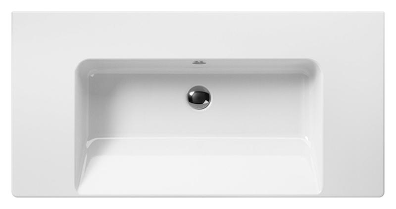Norm 100 8623111 белаяРаковины<br>Раковина подвесная GSI Norm 100 8623111 с отверстием для слива-перелива.<br>