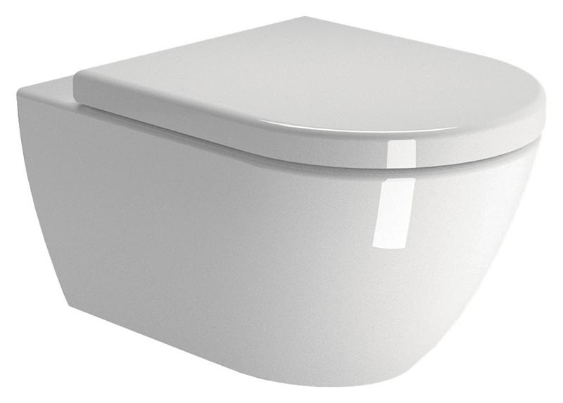 Pura 55 881211 белый глянцевыйУнитазы<br>Унитаз подвесной GSI Pura 55 881211 белый глянцевый с системой потайных креплений, установка снизу. Цена указана за чашу унитаза. Все остальное приобретается дополнительно.<br>
